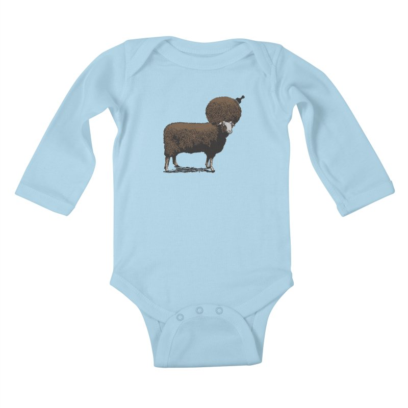 The Black Sheep Kids Baby Longsleeve Bodysuit by 2D