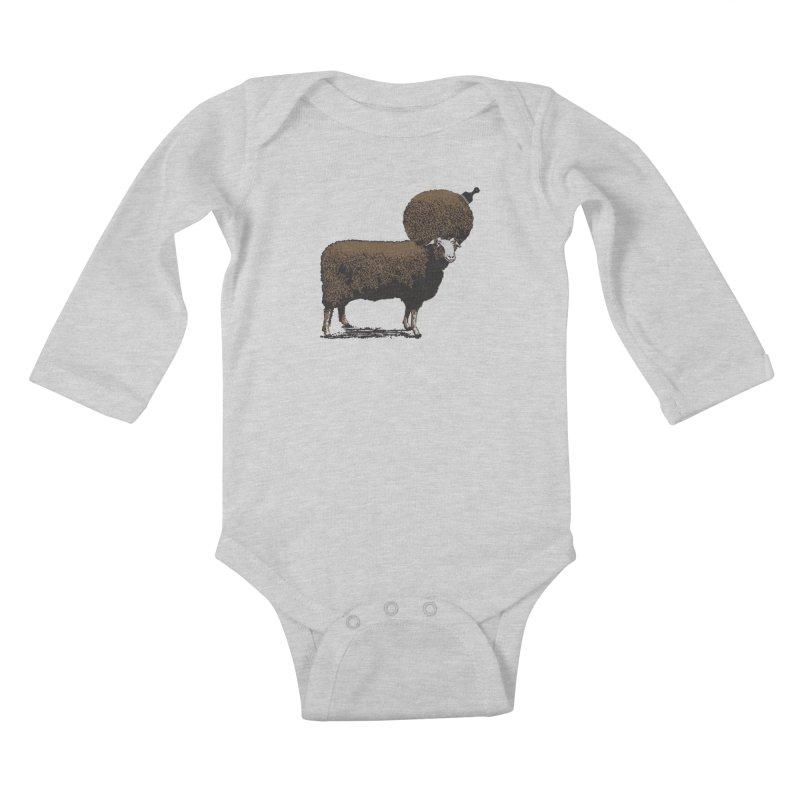 The Black Sheep Kids Baby Longsleeve Bodysuit by 2D