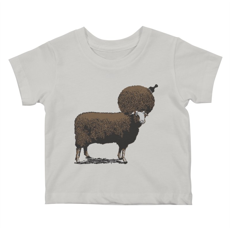 The Black Sheep Kids Baby T-Shirt by 2D