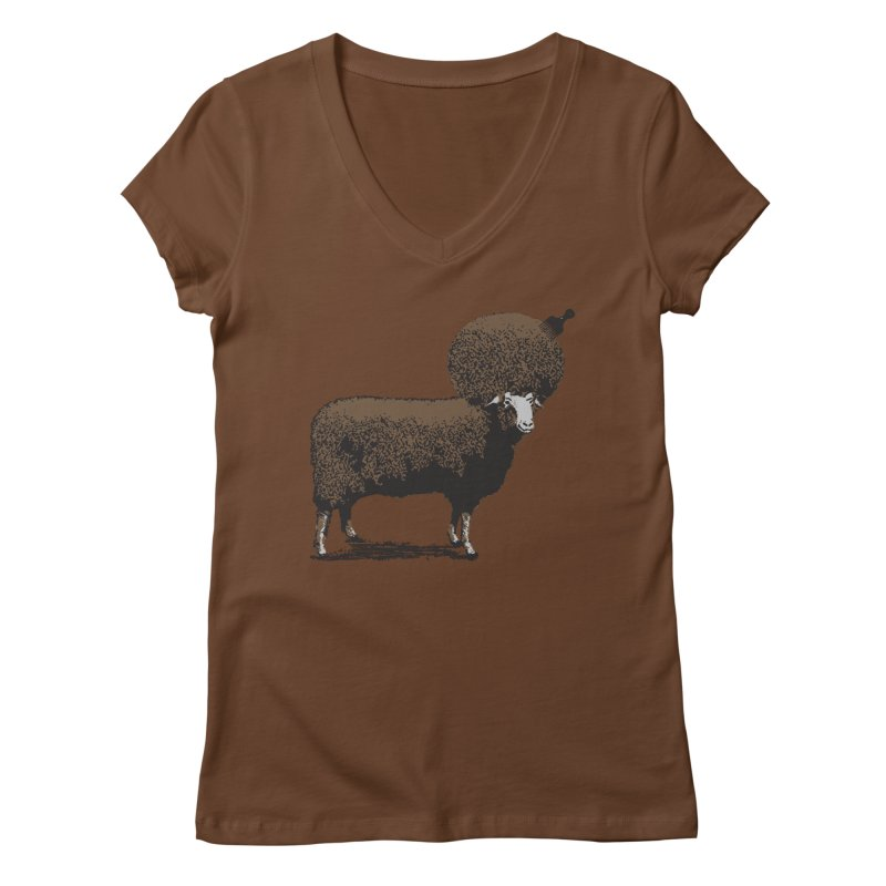 The Black Sheep Women's V-Neck by 2D