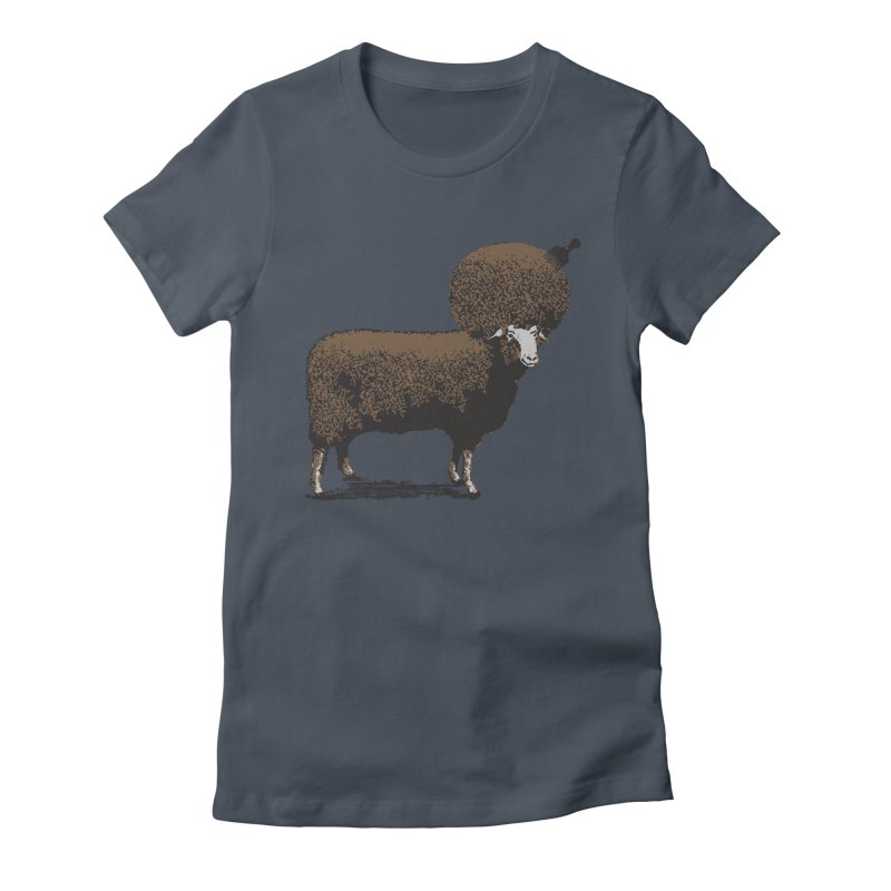 The Black Sheep Women's Fitted T-Shirt by 2D