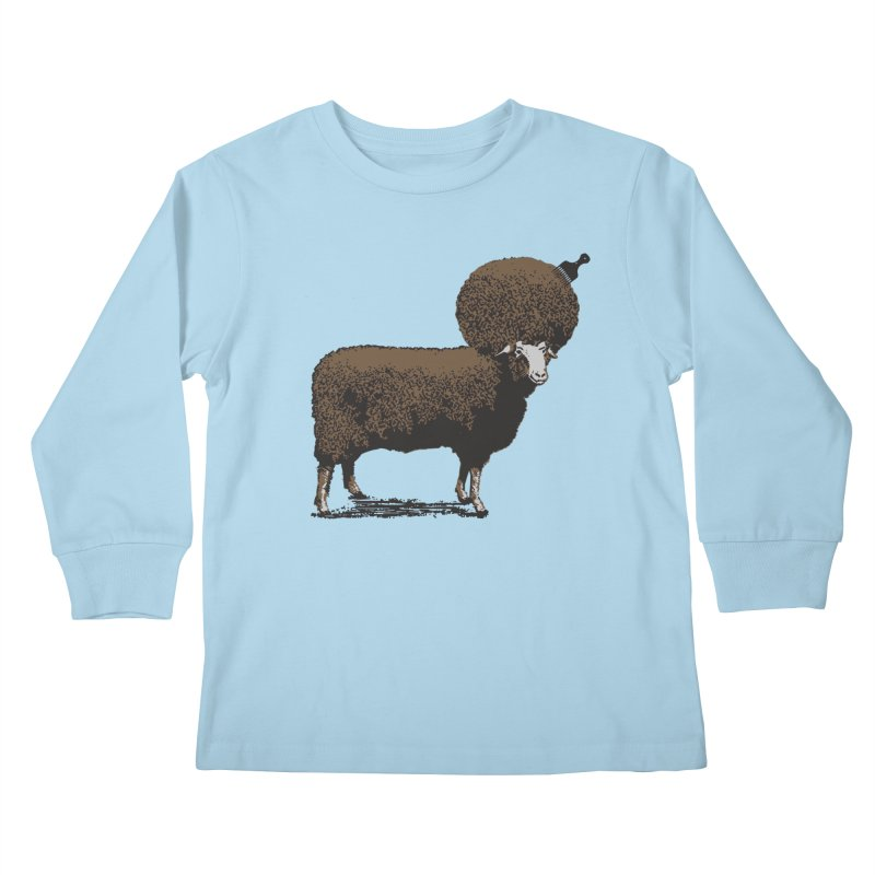 The Black Sheep Kids Longsleeve T-Shirt by 2D
