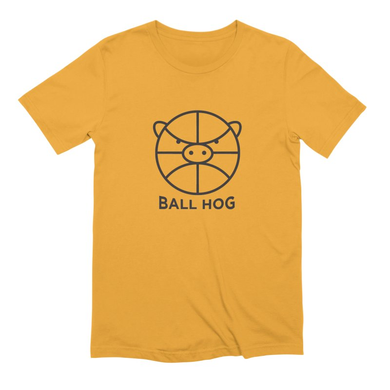 Ball Hog Men's Extra Soft T-Shirt by 2D