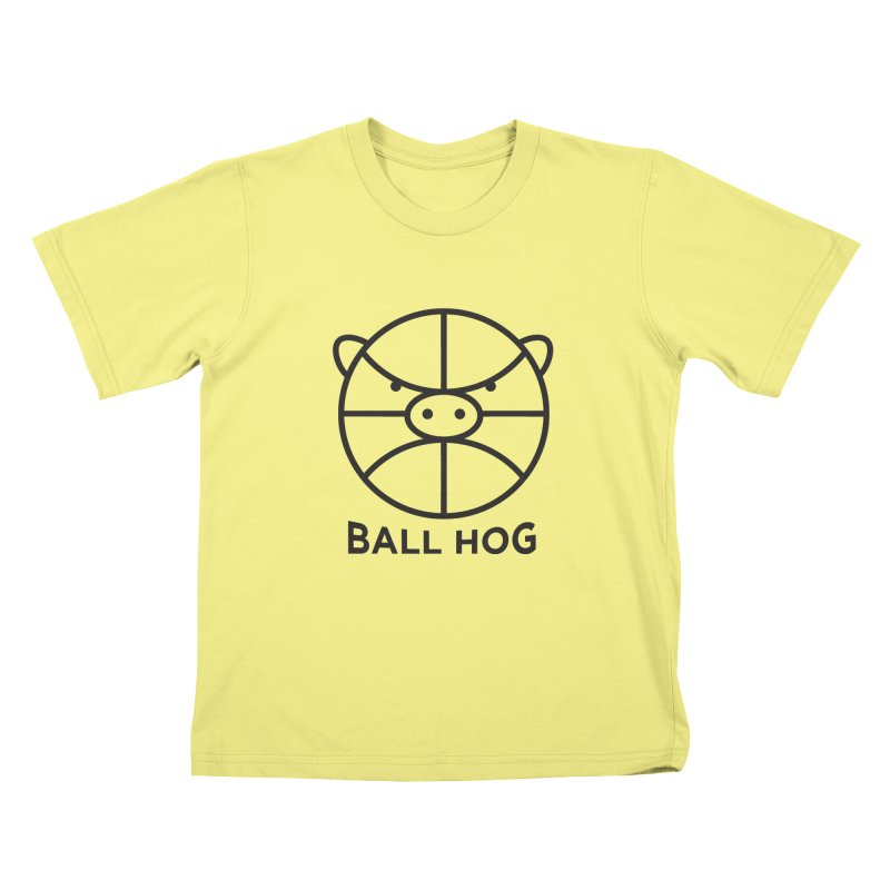Ball Hog Kids T-shirt by 2D
