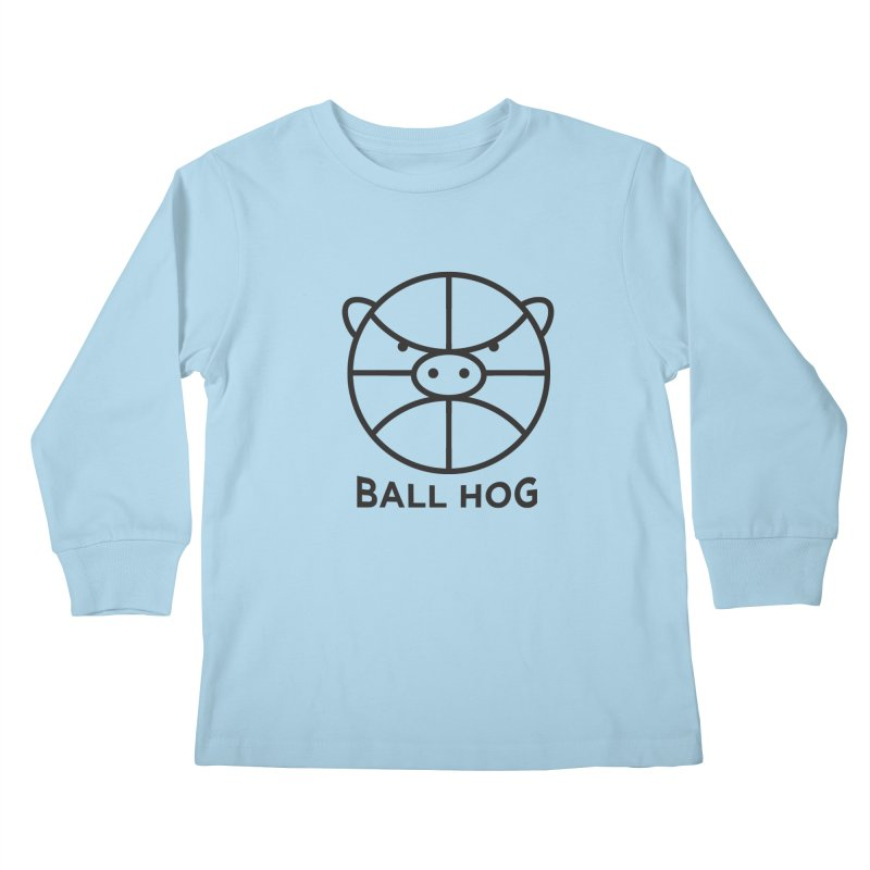 Ball Hog Kids Longsleeve T-Shirt by 2D