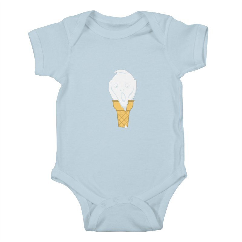 The Scream (For Ice Cream) Kids Baby Bodysuit by 2D