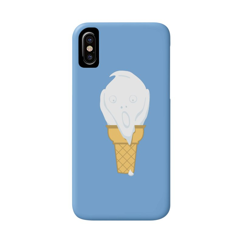 The Scream (For Ice Cream) Accessories Phone Case by 2D