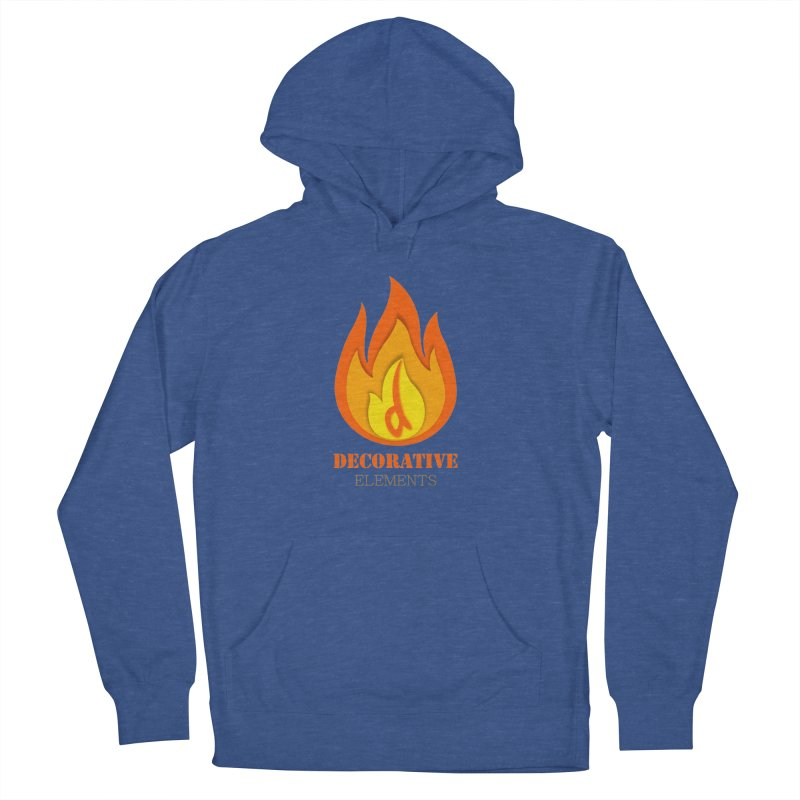 DECORATIVE ELEMENTS Women's Pullover Hoody by 2Dyzain's Artist Shop
