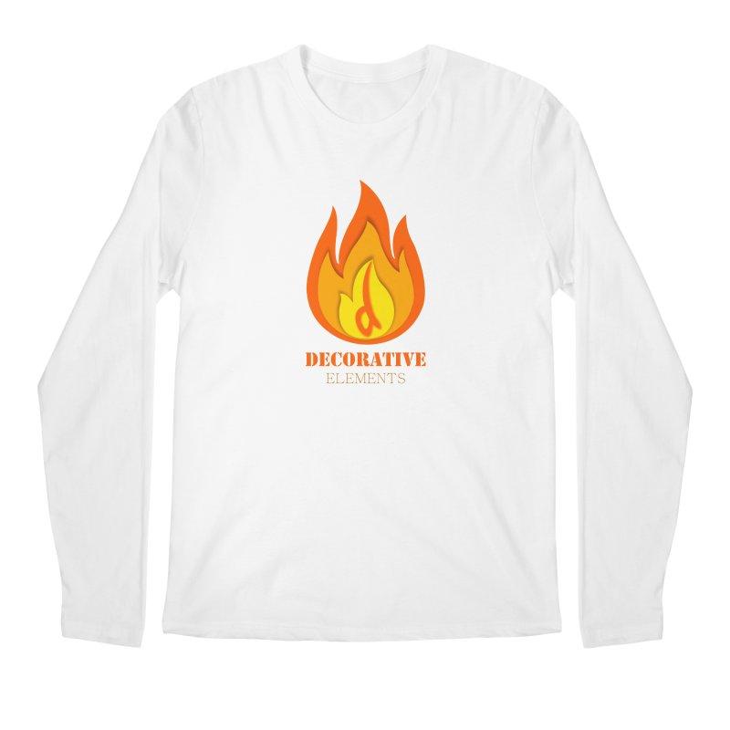DECORATIVE ELEMENTS Men's Longsleeve T-Shirt by 2Dyzain's Artist Shop