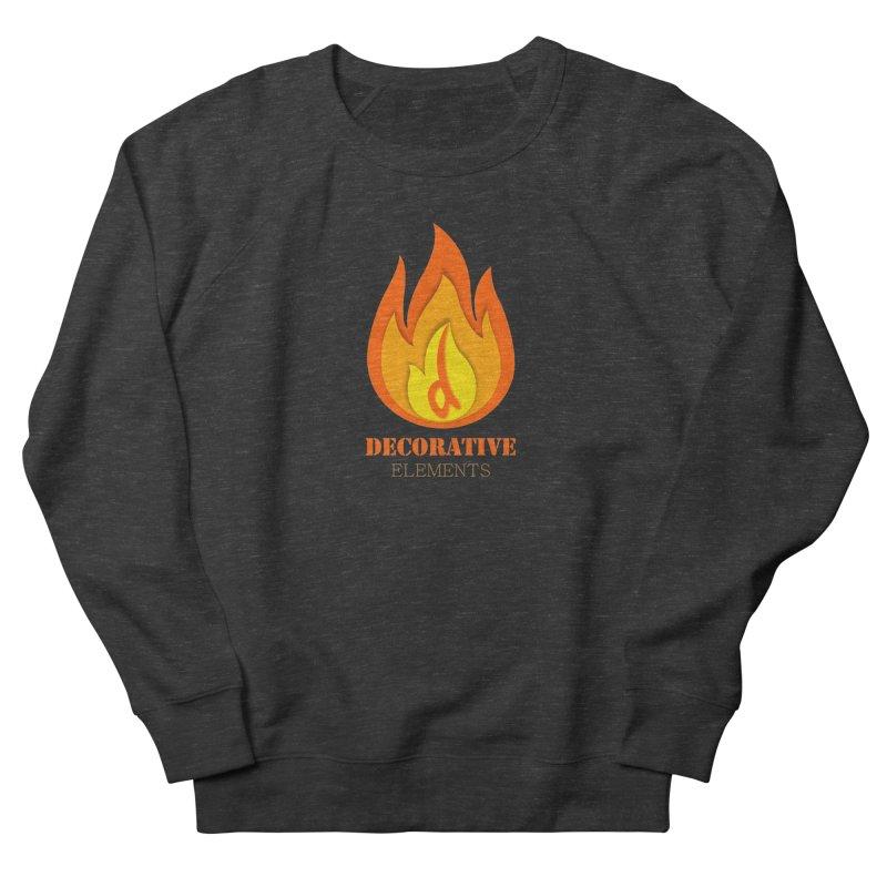 DECORATIVE ELEMENTS Men's Sweatshirt by 2Dyzain's Artist Shop