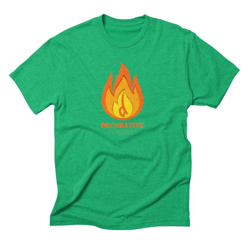 DECORATIVE ELEMENTS Men's T-Shirt by 2Dyzain's Artist Shop