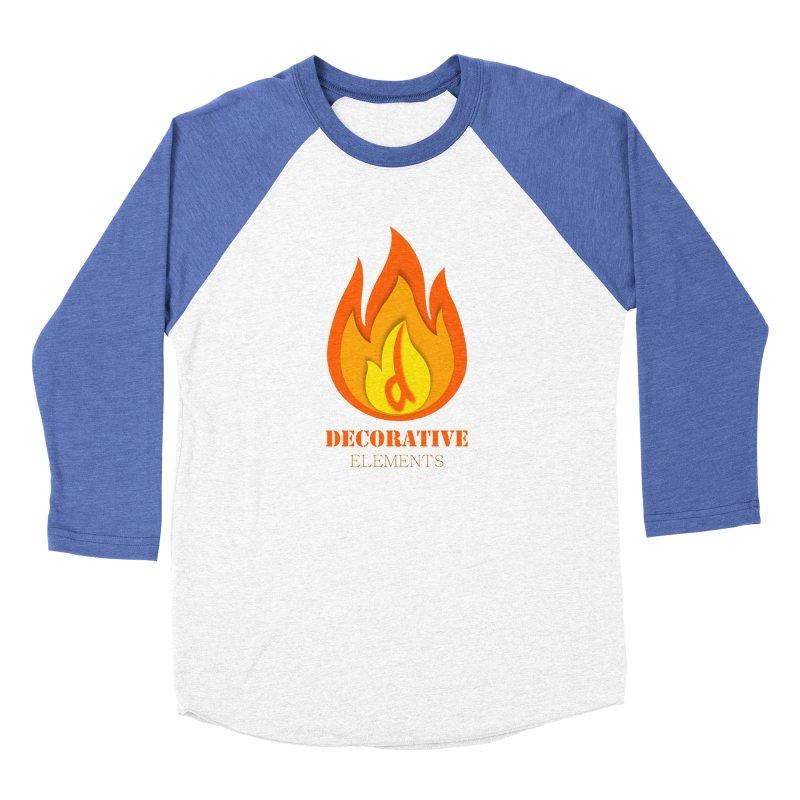 DECORATIVE ELEMENTS Men's Baseball Triblend T-Shirt by 2Dyzain's Artist Shop