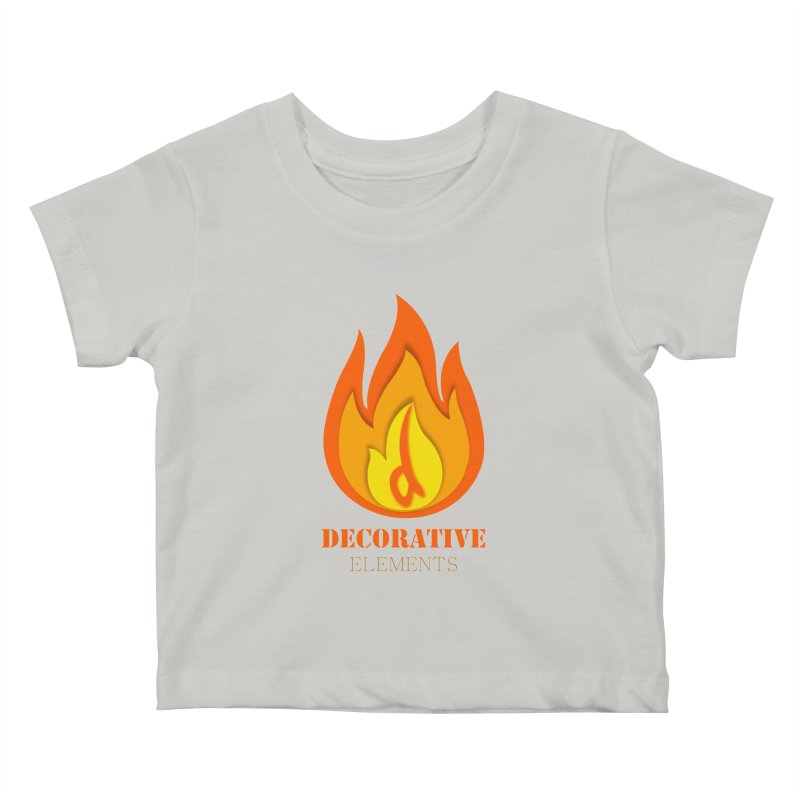 DECORATIVE ELEMENTS Kids Baby T-Shirt by 2Dyzain's Artist Shop