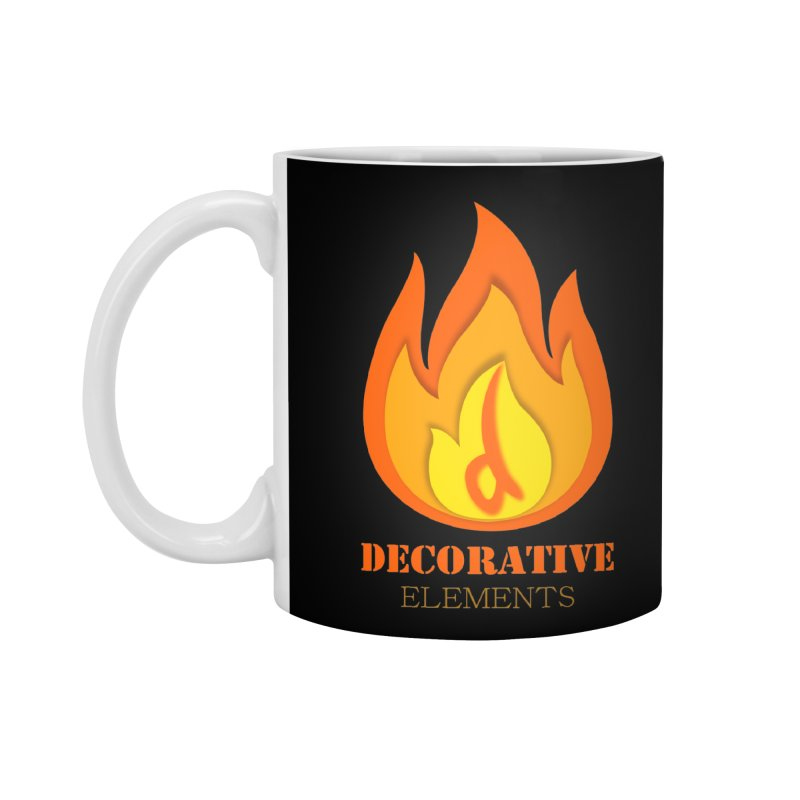 DECORATIVE ELEMENTS Accessories Mug by 2Dyzain's Artist Shop