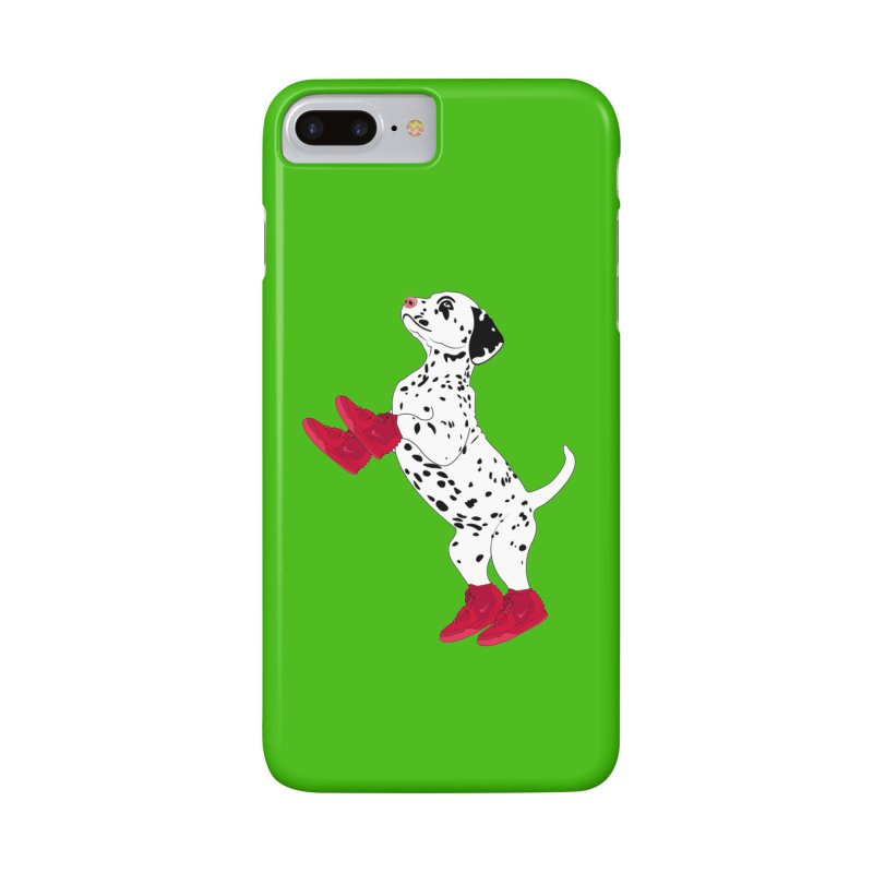 Dalmatian Puppy with Red High Top Basketball Shoes Accessories Phone Case by 2Dyzain's Artist Shop
