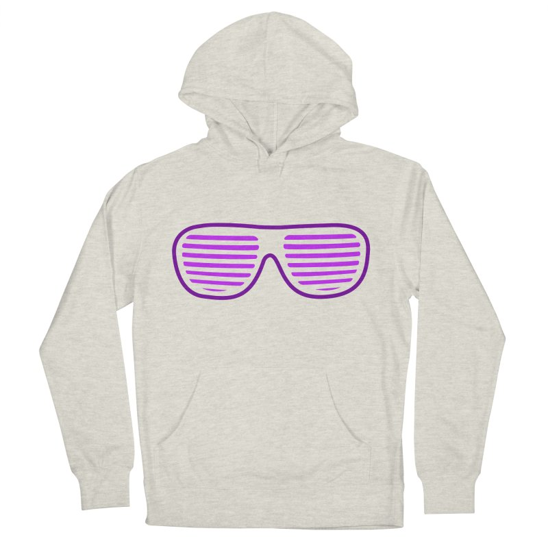 Purple Glasses Men's Pullover Hoody by 2Dyzain's Artist Shop