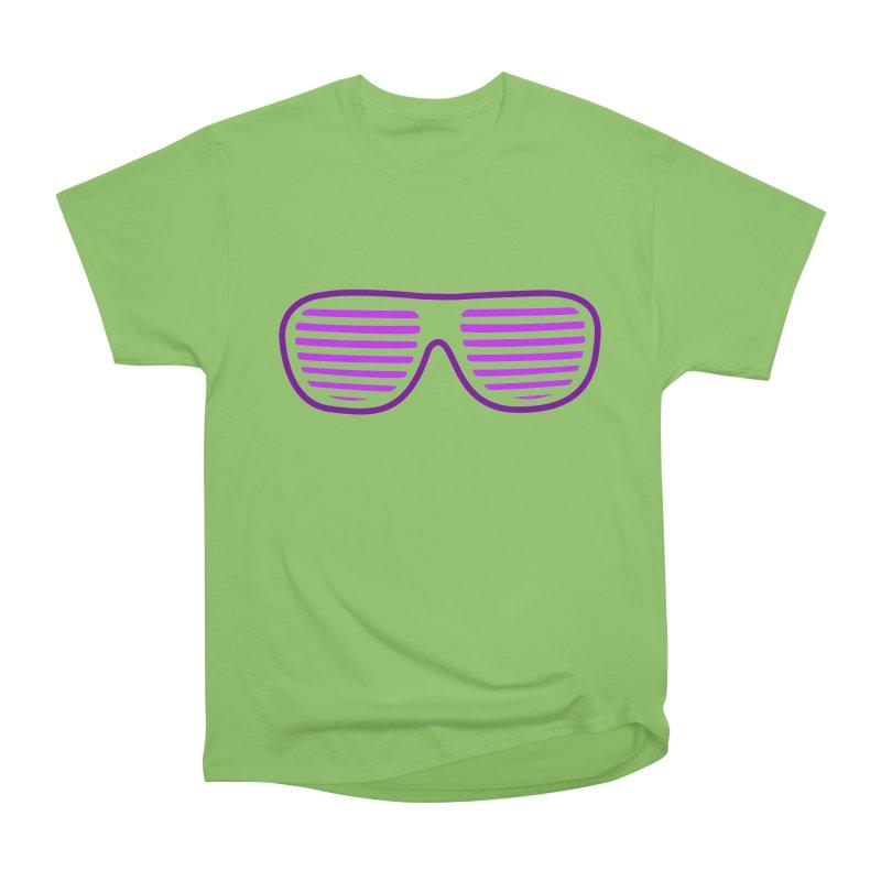 Purple Glasses Men's Heavyweight T-Shirt by 2Dyzain's Artist Shop