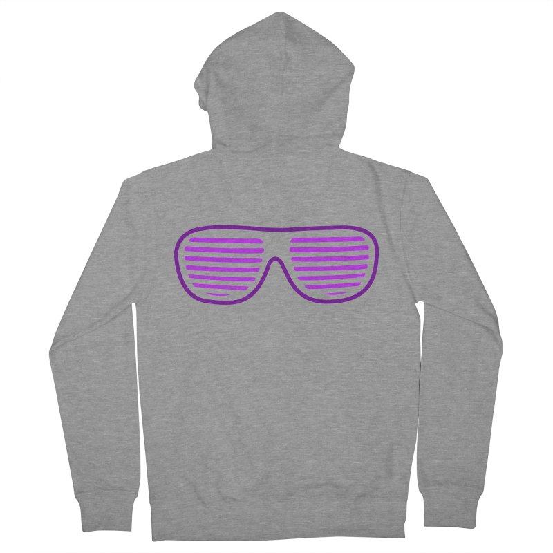 Purple Glasses Women's Zip-Up Hoody by 2Dyzain's Artist Shop