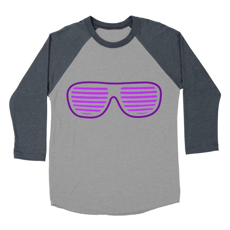 Purple Glasses Women's Baseball Triblend T-Shirt by 2Dyzain's Artist Shop