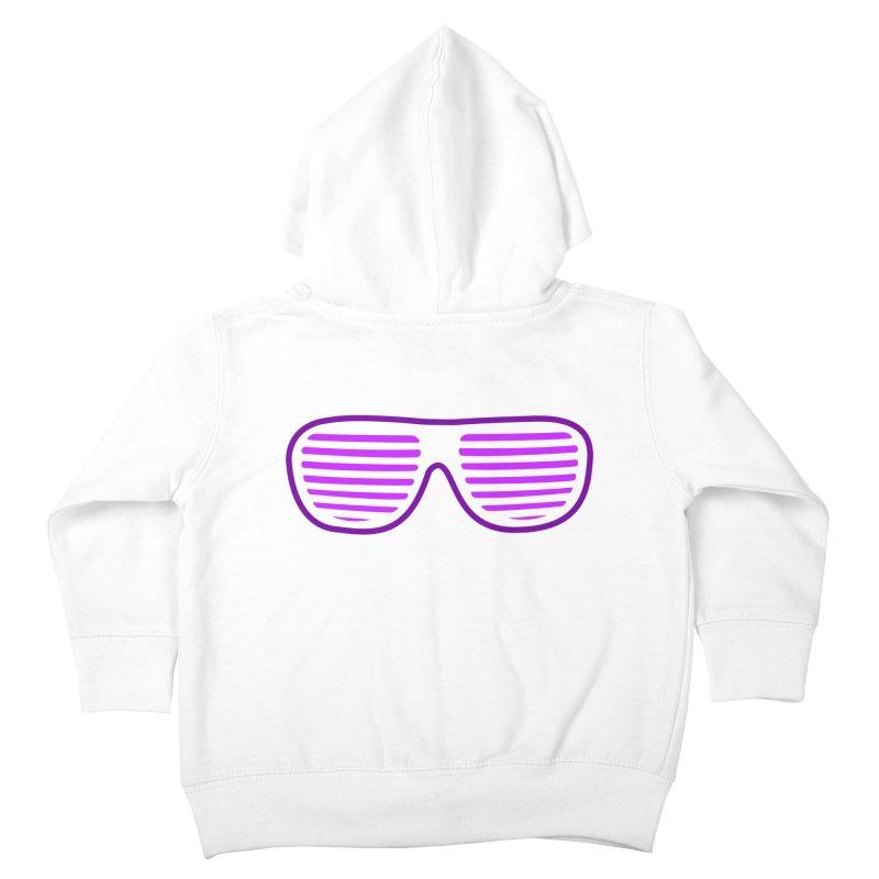 Purple Glasses Kids Toddler Zip-Up Hoody by 2Dyzain's Artist Shop