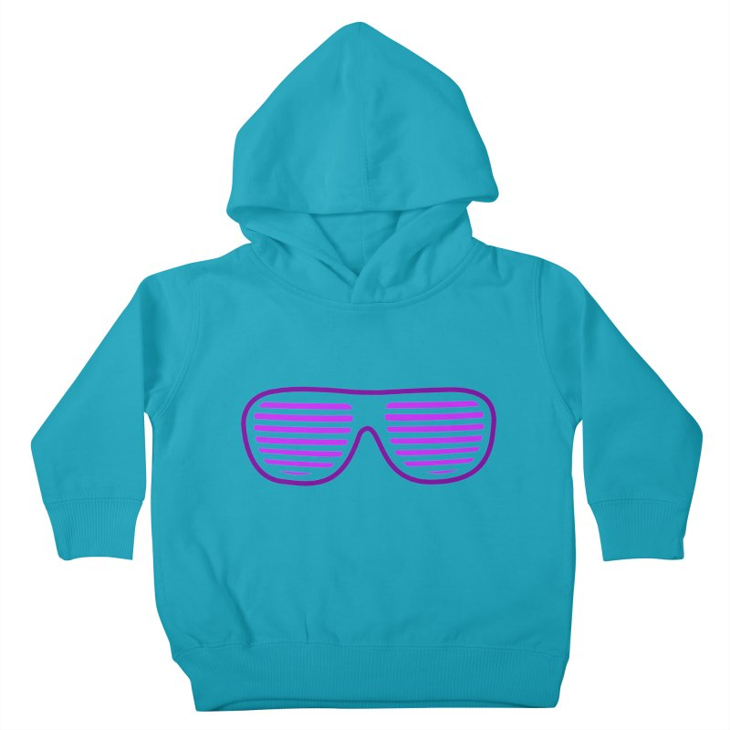Purple Glasses Kids Toddler Pullover Hoody by 2Dyzain's Artist Shop