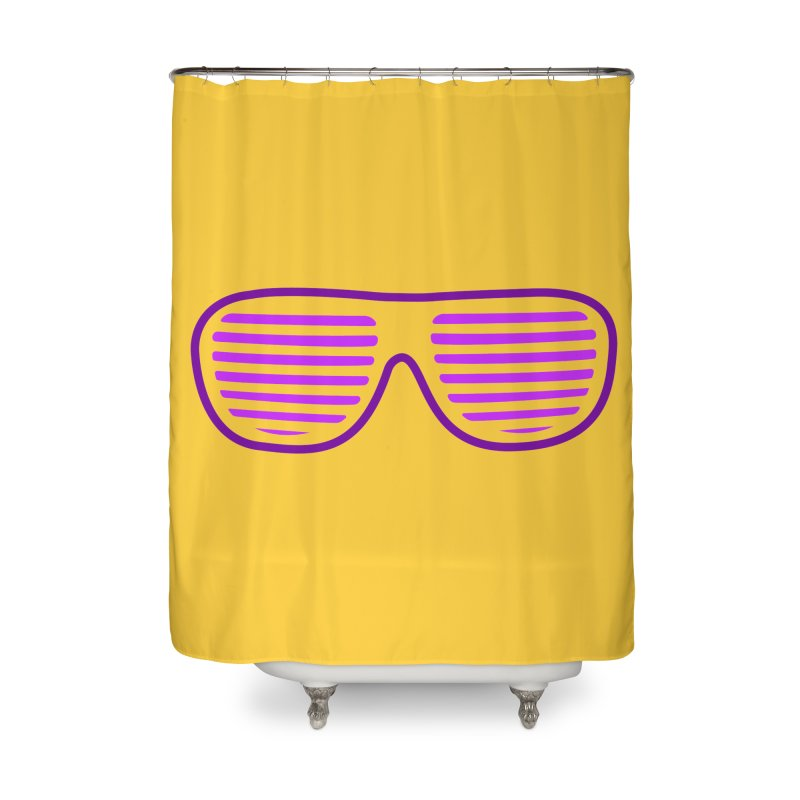 Purple Glasses Home Shower Curtain by 2Dyzain's Artist Shop