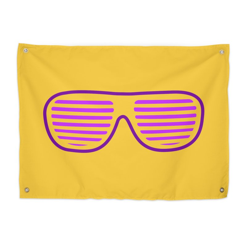Purple Glasses Home Tapestry by 2Dyzain's Artist Shop