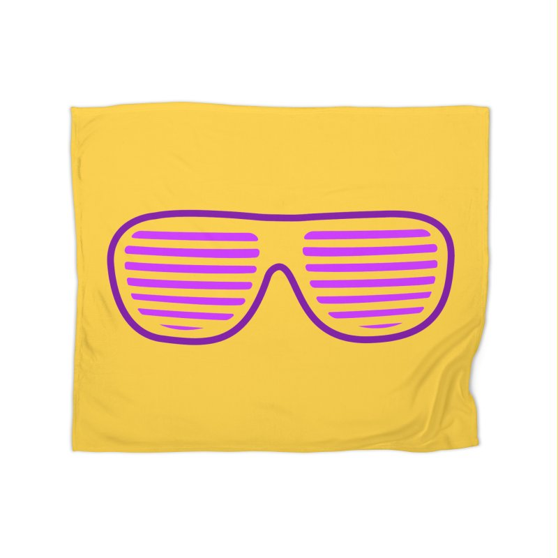 Purple Glasses Home Blanket by 2Dyzain's Artist Shop