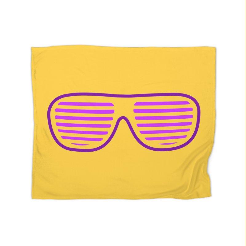 Purple Glasses Home Blanket by 2Dyzain's Artist Shop