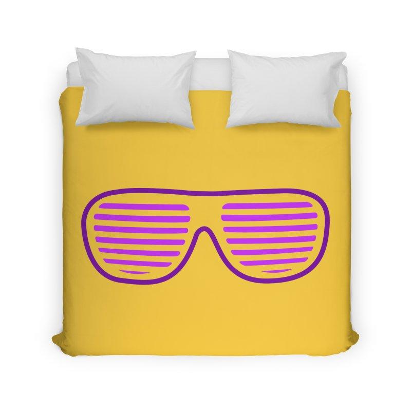 Purple Glasses Home Duvet by 2Dyzain's Artist Shop
