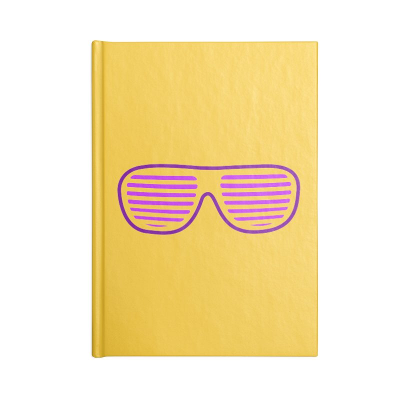 Purple Glasses Accessories Notebook by 2Dyzain's Artist Shop
