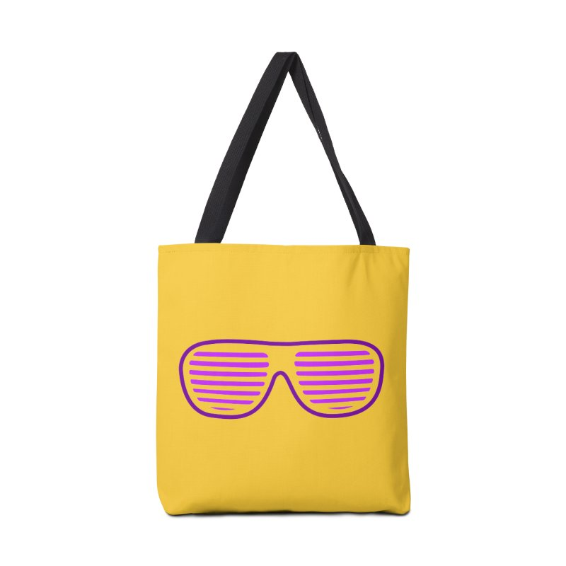 Purple Glasses Accessories Bag by 2Dyzain's Artist Shop