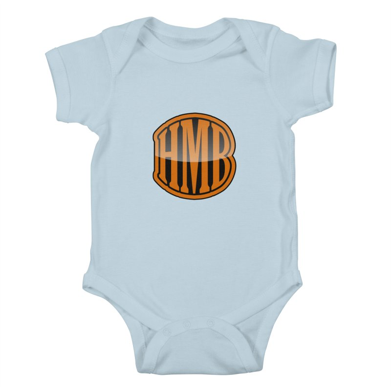HMB Kids Baby Bodysuit by 2Dyzain's Artist Shop