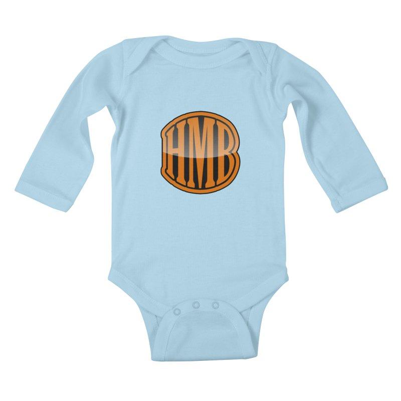 HMB Kids Baby Longsleeve Bodysuit by 2Dyzain's Artist Shop