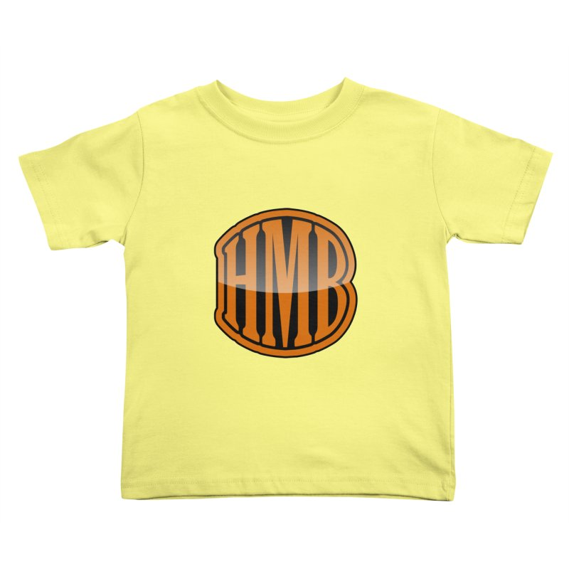 HMB Kids Toddler T-Shirt by 2Dyzain's Artist Shop