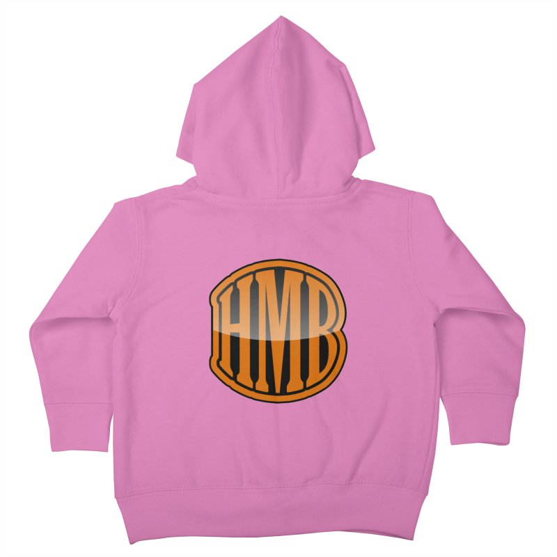 HMB Kids Toddler Zip-Up Hoody by 2Dyzain's Artist Shop