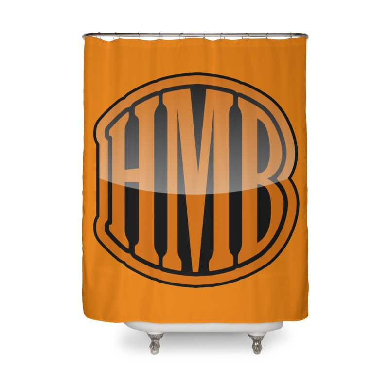 HMB Home Shower Curtain by 2Dyzain's Artist Shop