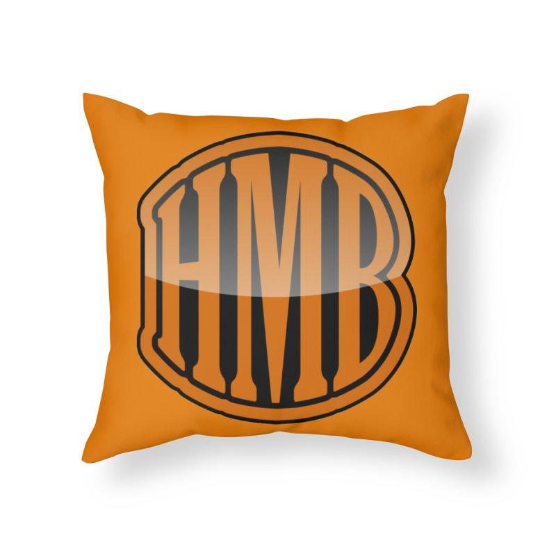 HMB Home Throw Pillow by 2Dyzain's Artist Shop