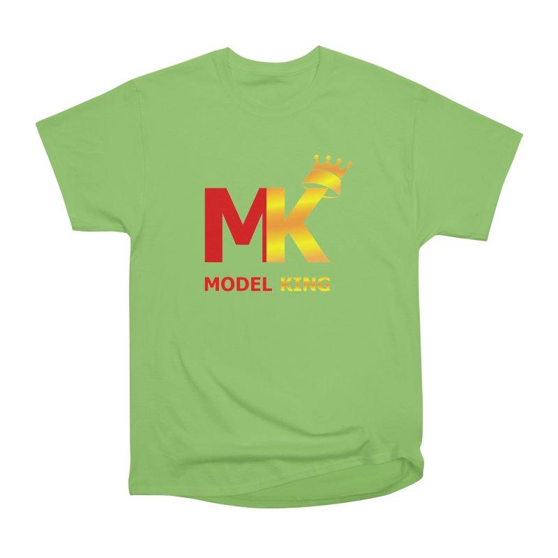 Model King Men's Heavyweight T-Shirt by 2Dyzain's Artist Shop