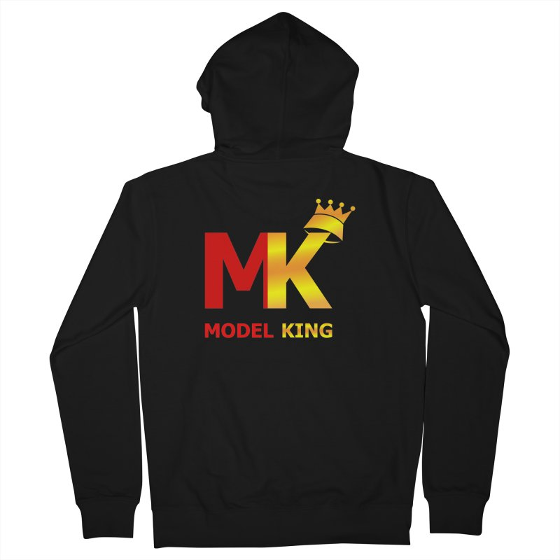 Model King Men's Zip-Up Hoody by 2Dyzain's Artist Shop