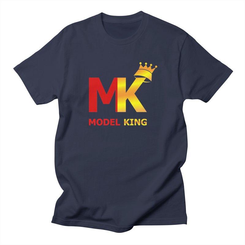 Model King Men's T-shirt by 2Dyzain's Artist Shop