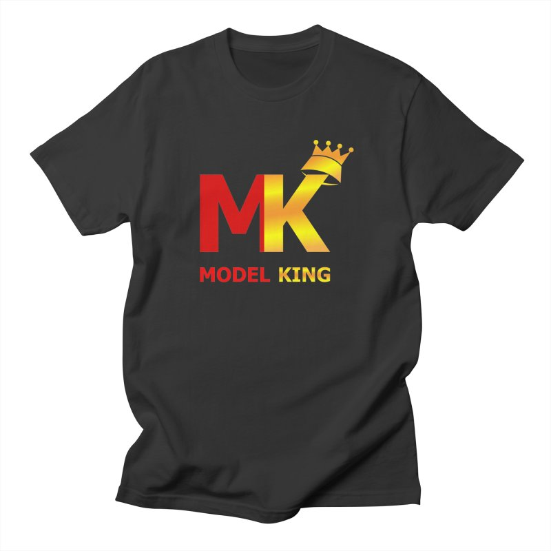 Model King Men's T-shirt by 2Dyzain's Artist Shop