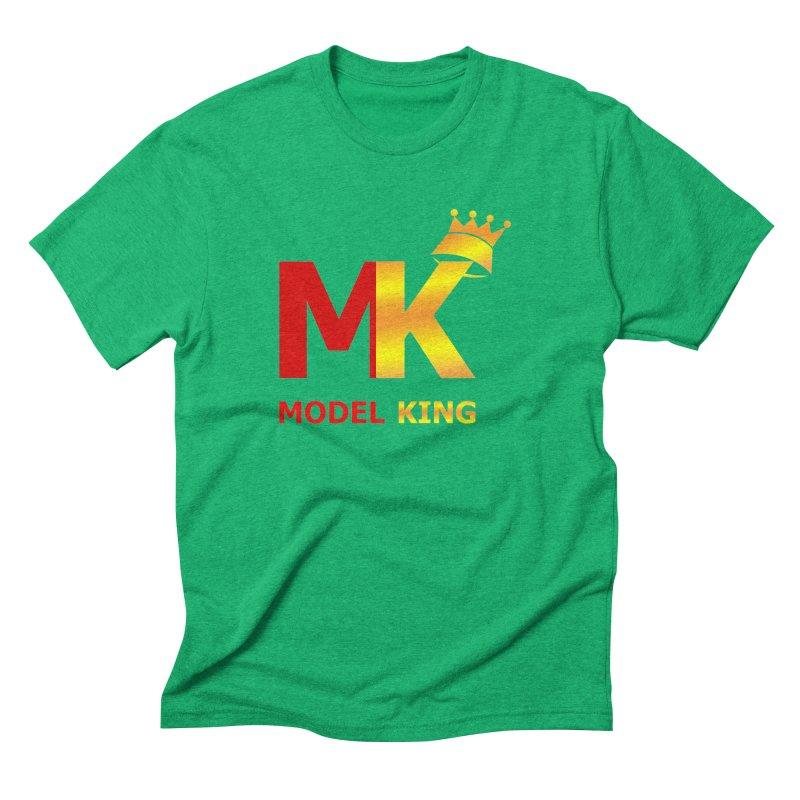 Model King Men's Triblend T-Shirt by 2Dyzain's Artist Shop