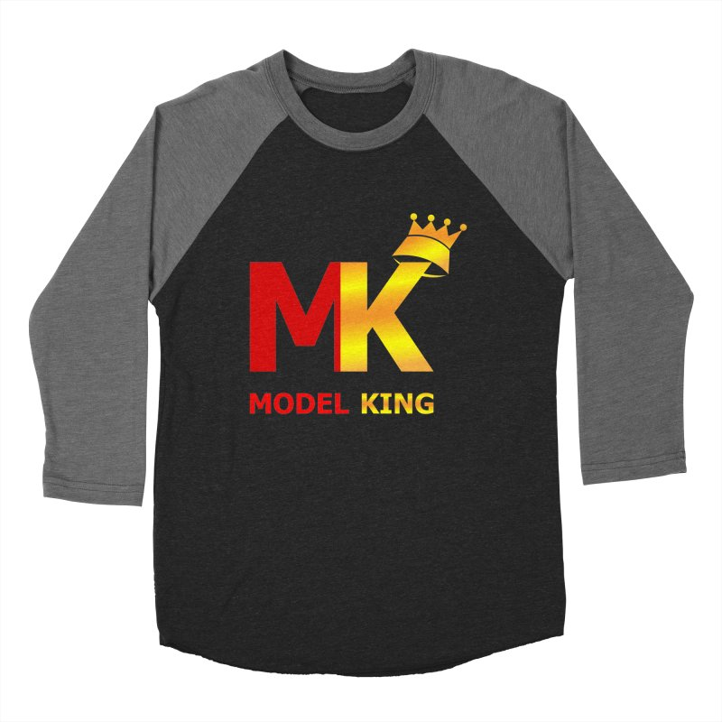 Model King Men's Baseball Triblend T-Shirt by 2Dyzain's Artist Shop