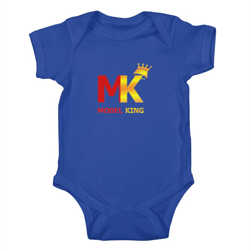 Model King Kids Baby Bodysuit by 2Dyzain's Artist Shop