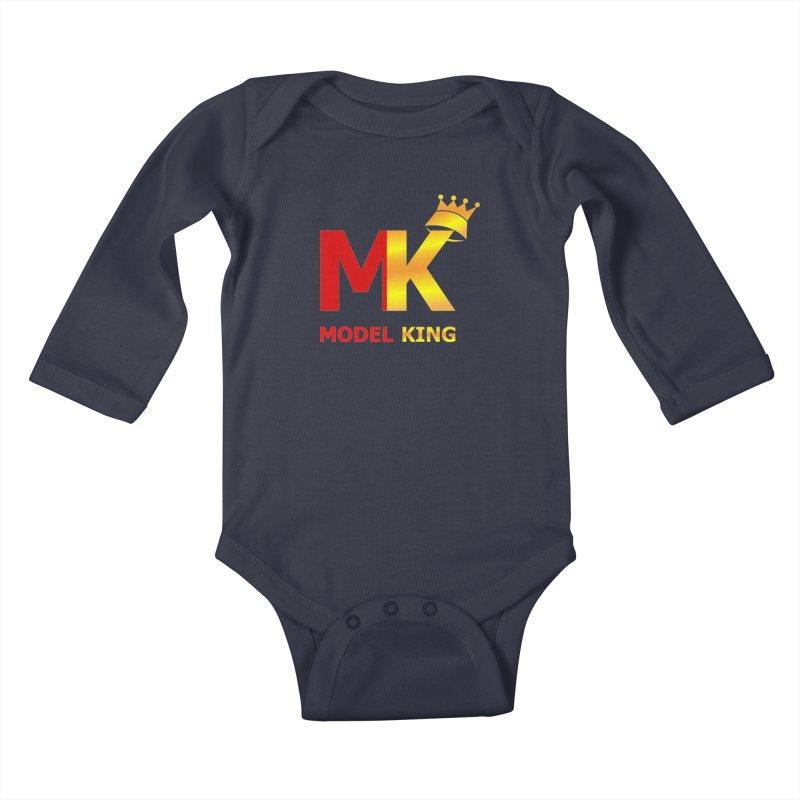 Model King Kids Baby Longsleeve Bodysuit by 2Dyzain's Artist Shop