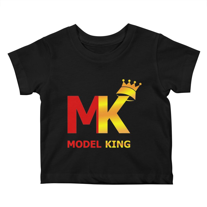 Model King Kids Baby T-Shirt by 2Dyzain's Artist Shop