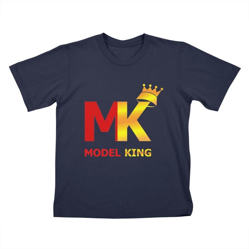 Model King Kids T-Shirt by 2Dyzain's Artist Shop