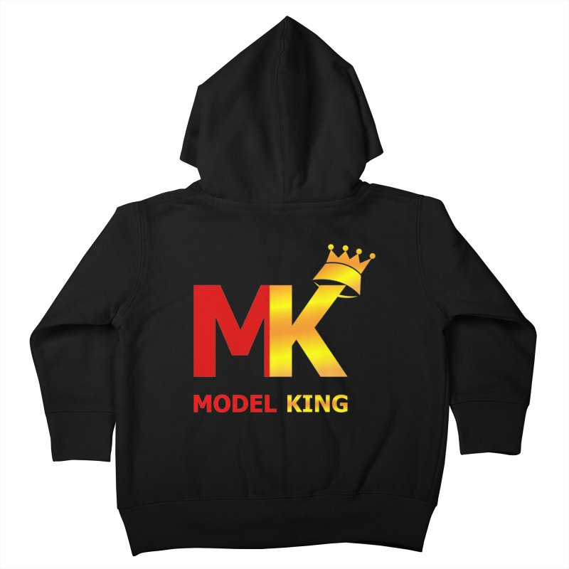 Model King Kids Toddler Zip-Up Hoody by 2Dyzain's Artist Shop