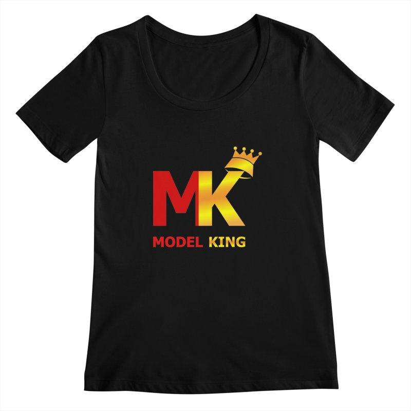 Model King Women's Scoopneck by 2Dyzain's Artist Shop